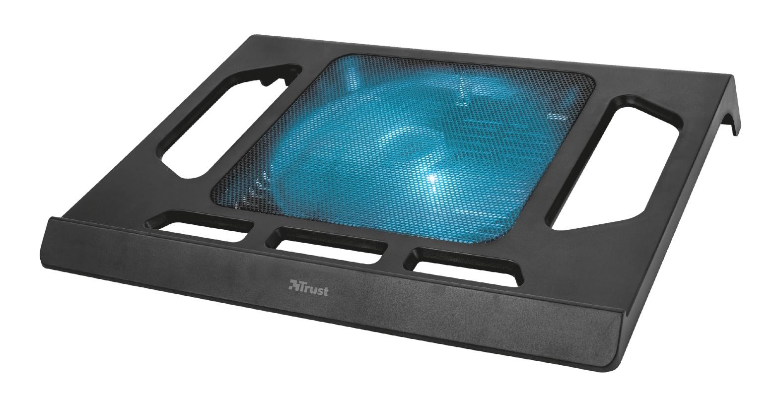 Охлаждающая подставка 21905 Trust KUZO подсветка стол подставка для ноутбука crown cmls 101 до 17 с вентилятором серебристая