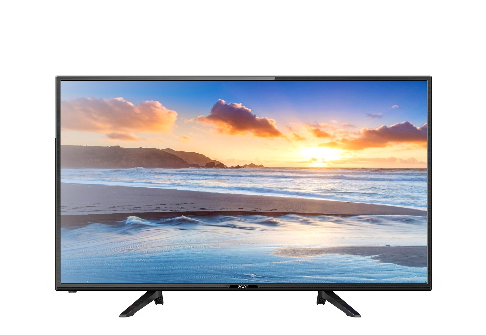 Телевизор ECON LED SMART TV, 32 (81 см), с встроенным спутниковым и цифровым тюнером , модулем WI-FI 32, черный