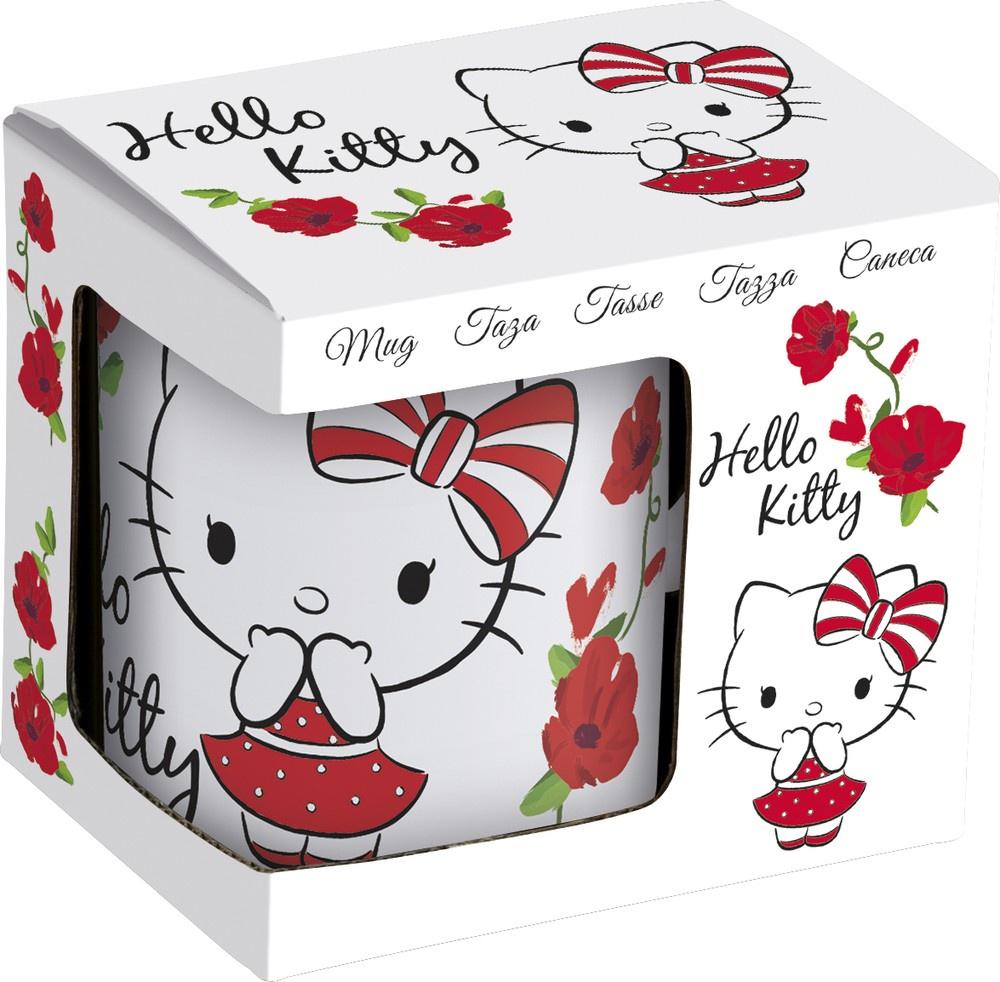 цены на Кружка керамическая в подарочной упаковке Stor (№5, 325 мл). Hello Kitty, арт. 46205  в интернет-магазинах