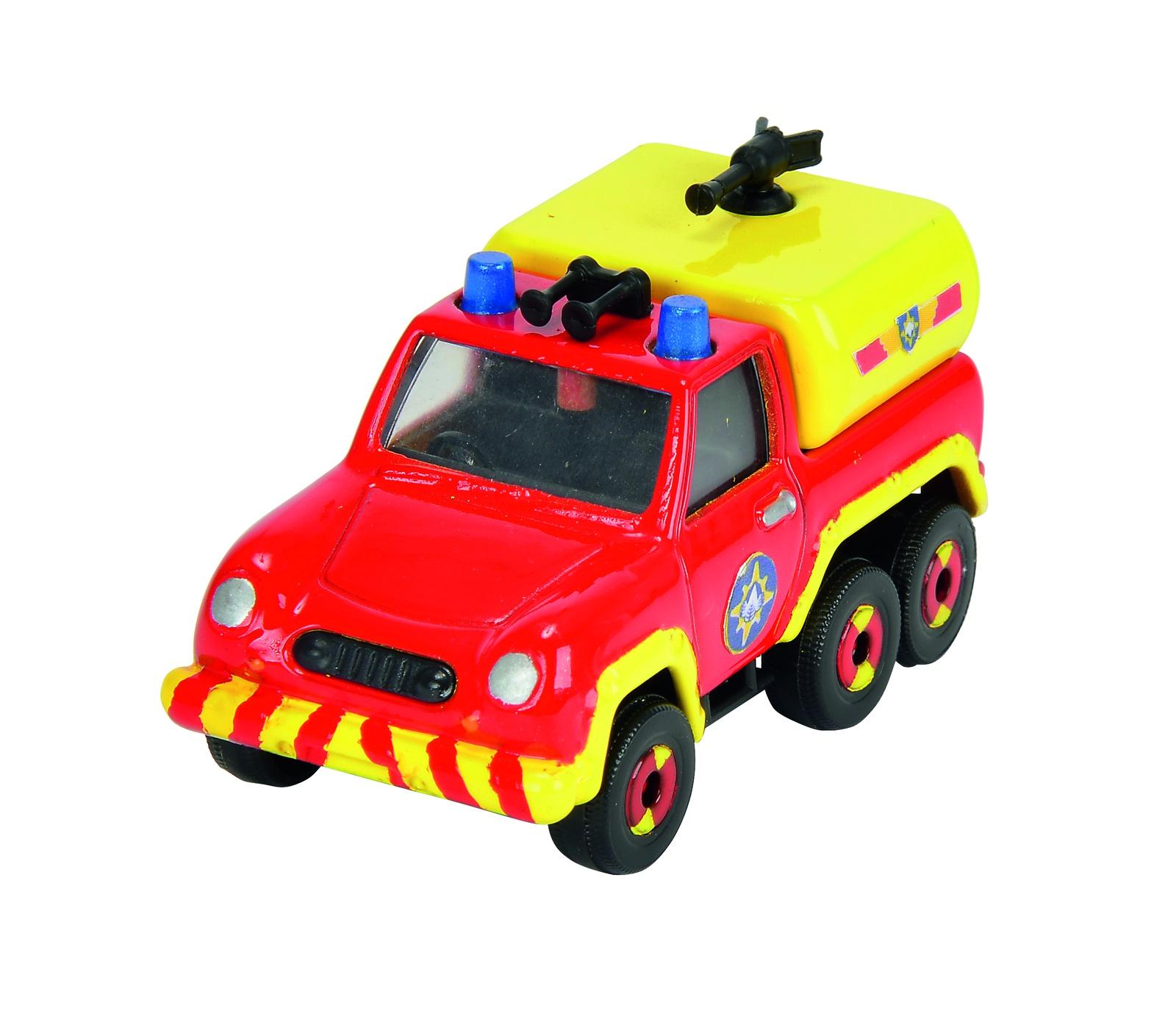 Пожарный Сэм, Игрушка транспортная на блистере Венера, 1:64, 24/96 машинка 3шт пожарный сэм dickie
