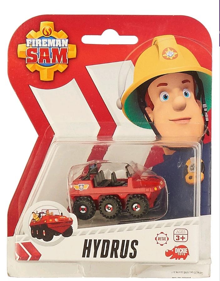 Пожарный Сэм, Игрушка транспортная на блистере Гидра, 1:64, 24/96 машинка 3шт пожарный сэм dickie