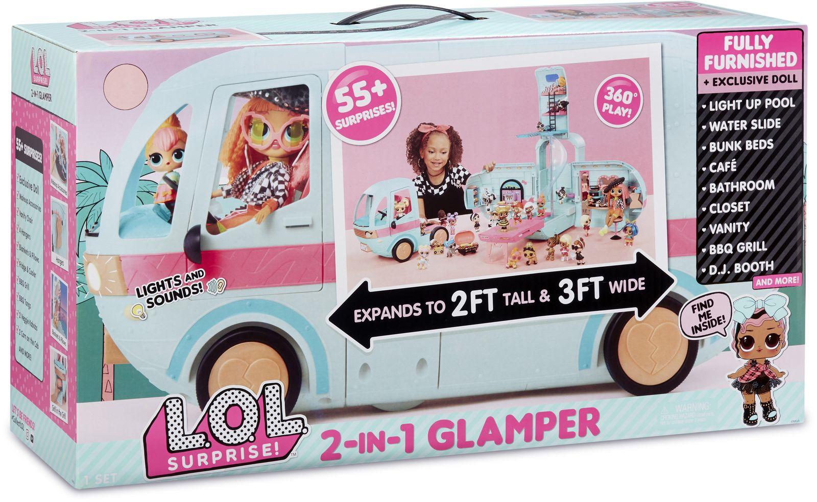Игровой набор с куклой L.O.. Surprise!