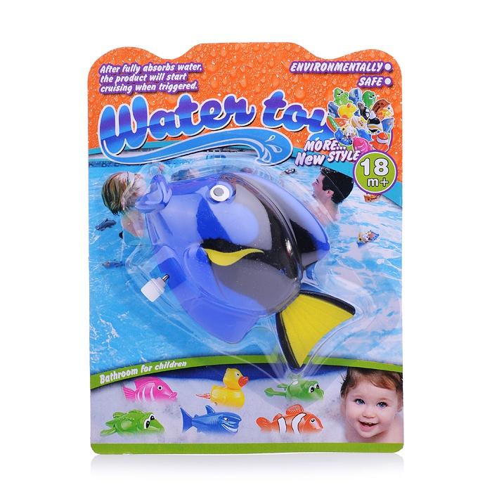 Игрушка для купания 1378-12YS/A Рыбка на блистере