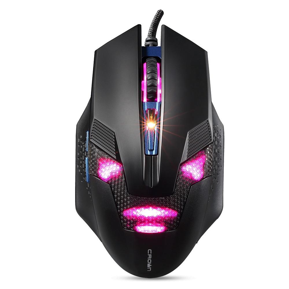 лучшая цена Мышь CROWN Gaming CMG-04 blue
