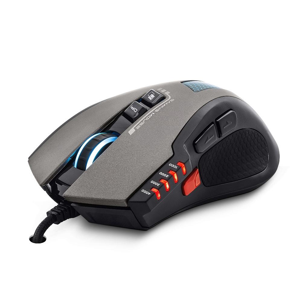 Мышь CROWN Gaming CMXG-711 Black (Programmable) цена в Москве и Питере