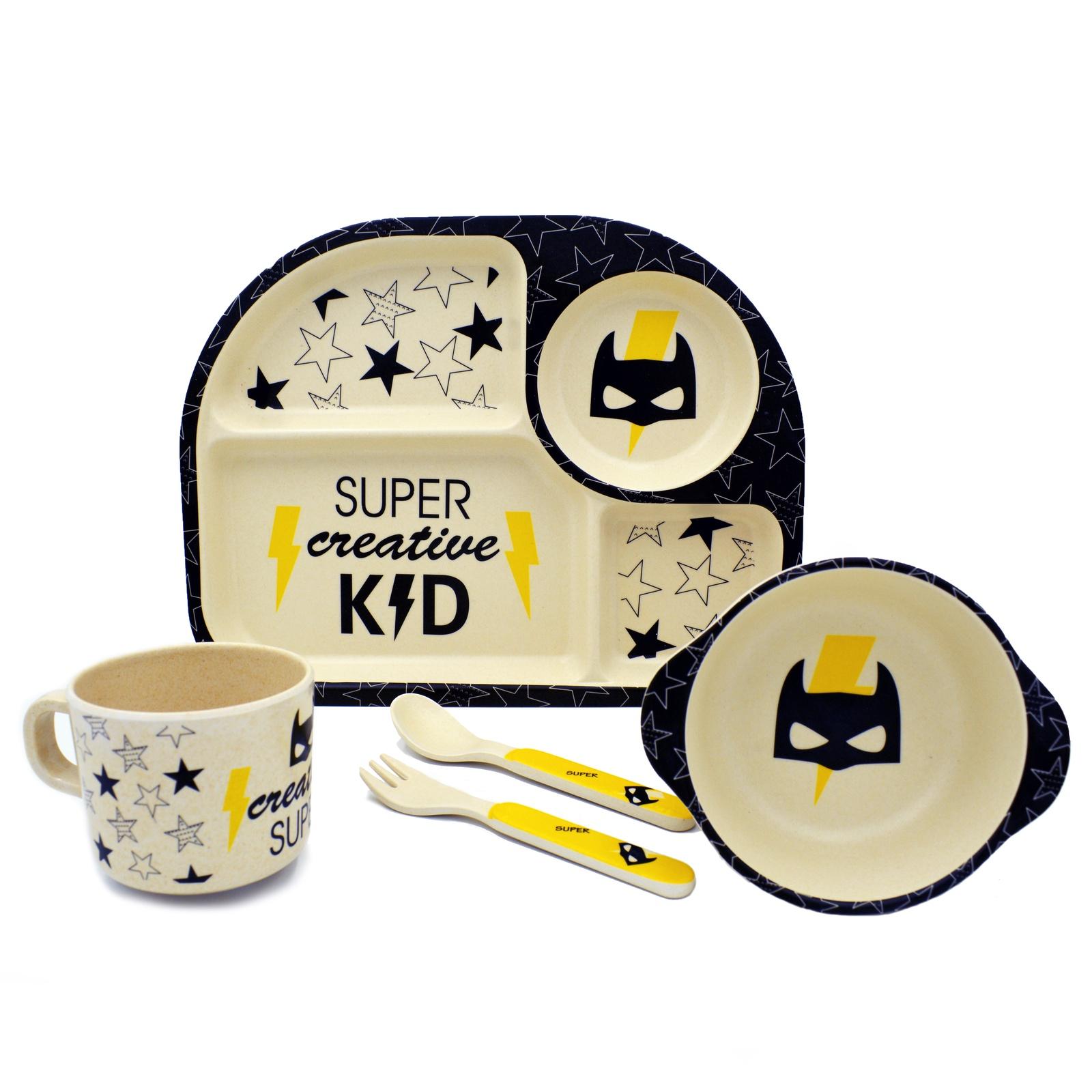 Комплект посуды Baozhiyu Супер герой