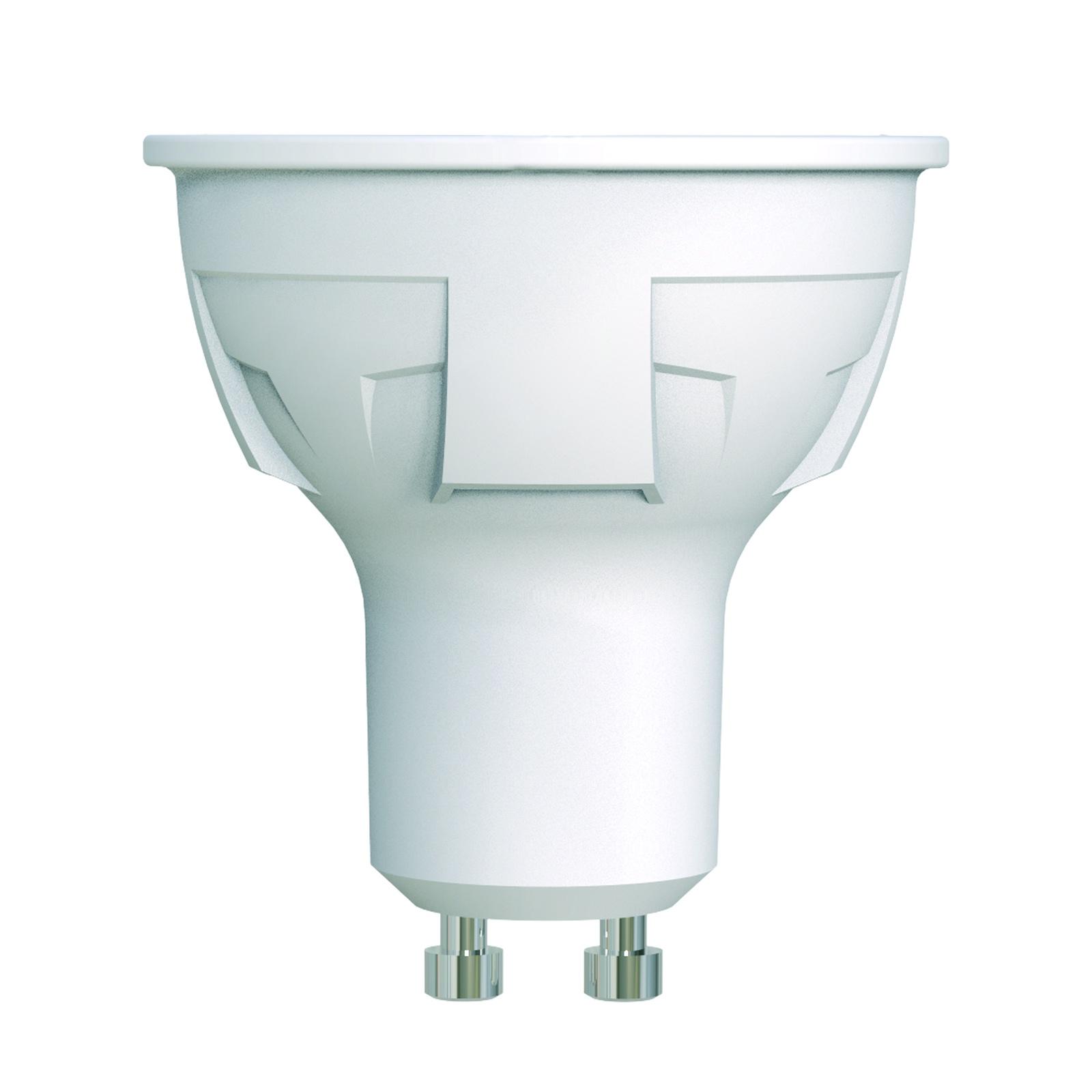 Лампочка Uniel LED-JCDR 6W/NW/GU10/FR/DIM 4000K, Нейтральный свет 6 Вт, Светодиодная