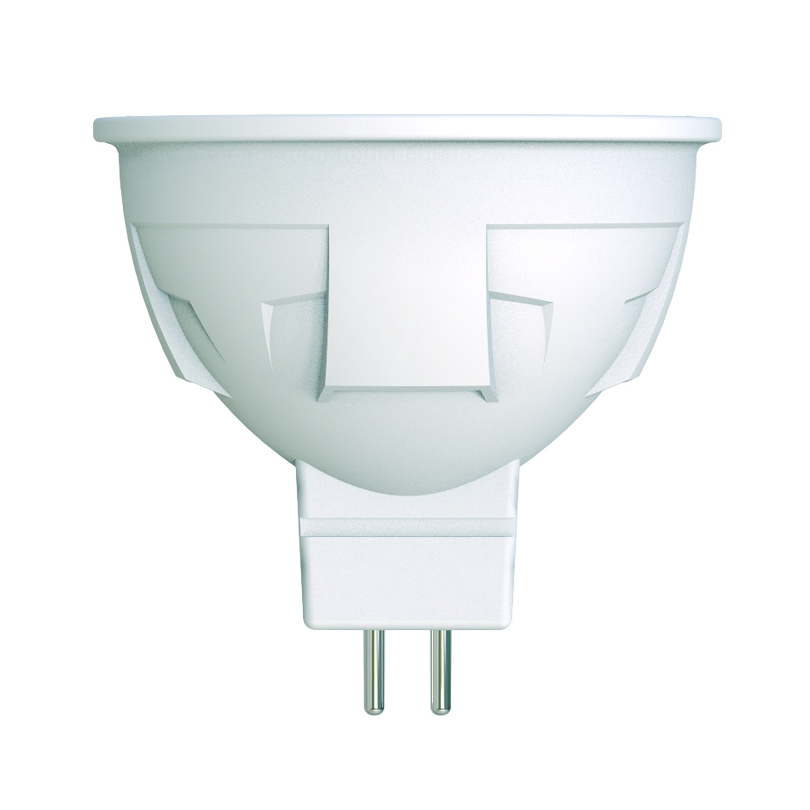 Лампочка Uniel LED-JCDR 6W/WW/GU5.3/FR/DIM 3000K, Теплый свет 6 Вт, Светодиодная