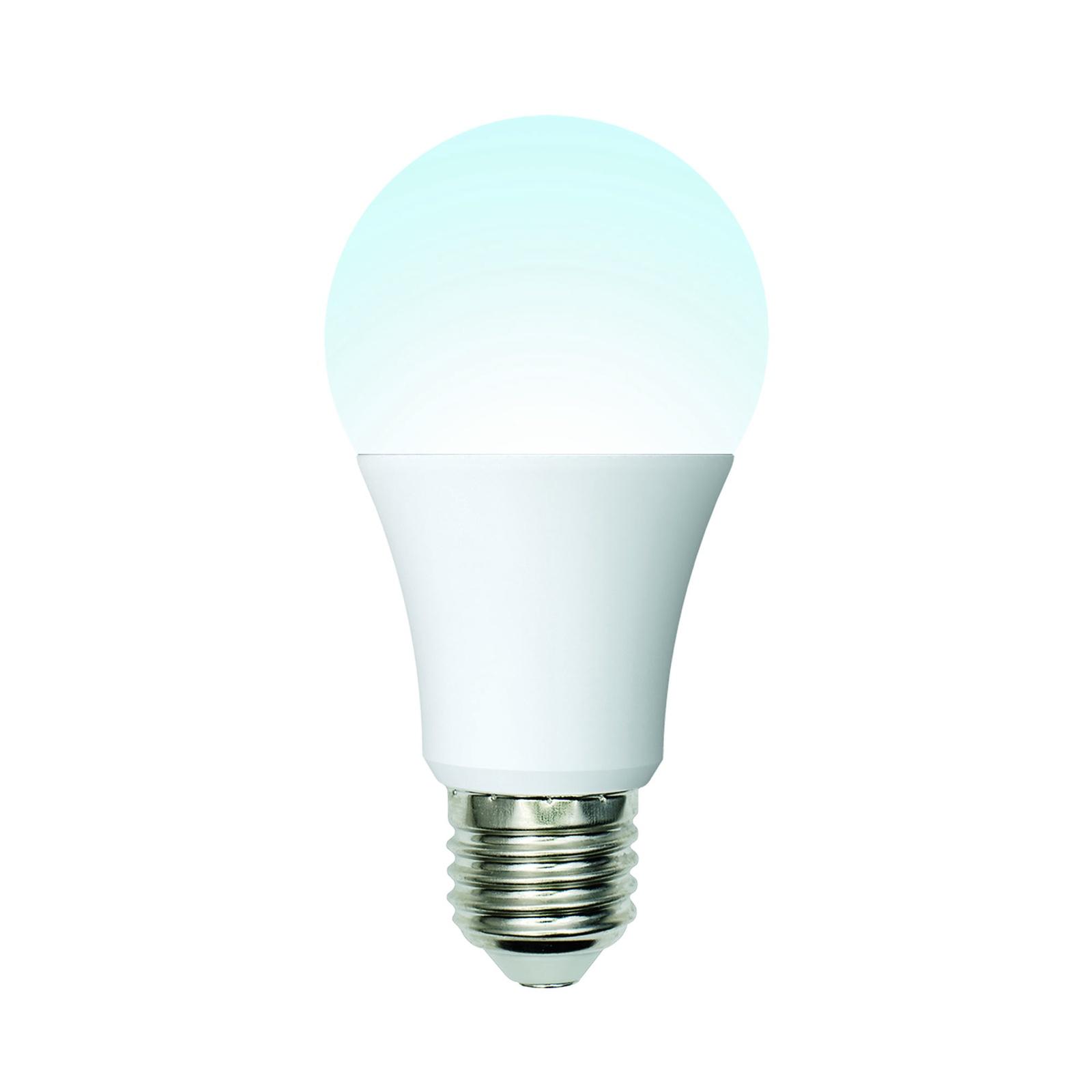 Лампочка Uniel LED-A60-10W/NW/E27/FR/MB 4000K, Нейтральный свет 10 Вт, Светодиодная