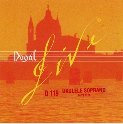 Комплект струн для укулеле-тенор Dogal D119B veston kus 15yw укулеле