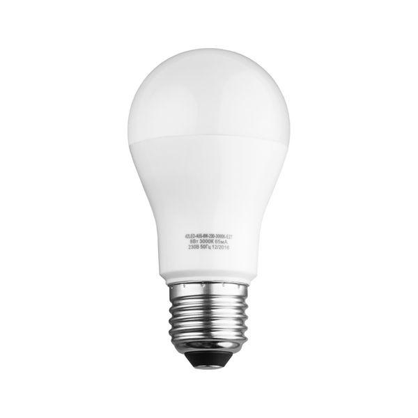 Лампочка Sweko 42LED-A55-8W-230-4000K-E27, 10 штук, Холодный свет 8 Вт, Светодиодная