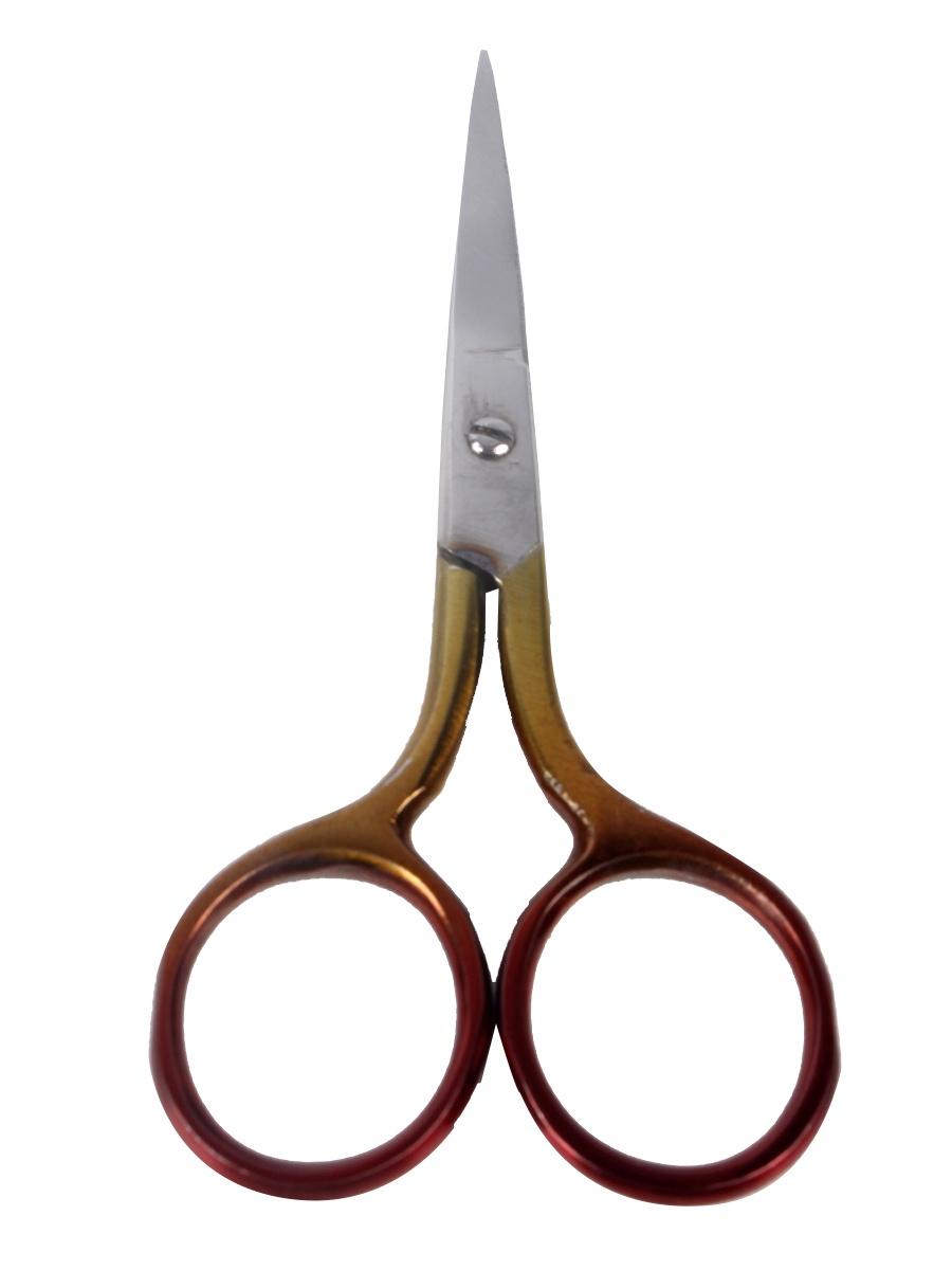 цена на Ножницы маникюрные CUTWELL 002, цвет желтый/коричневый