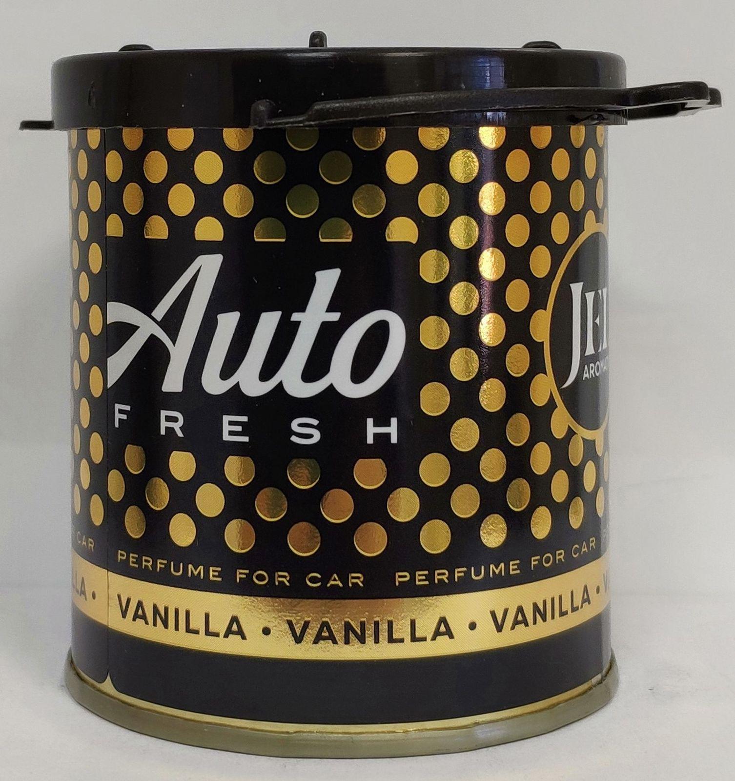 Автомобильный ароматизатор Auto Fresh Ваниль, гелевый, 80 мл ароматизатор fresh way парус машина капучино и ваниль