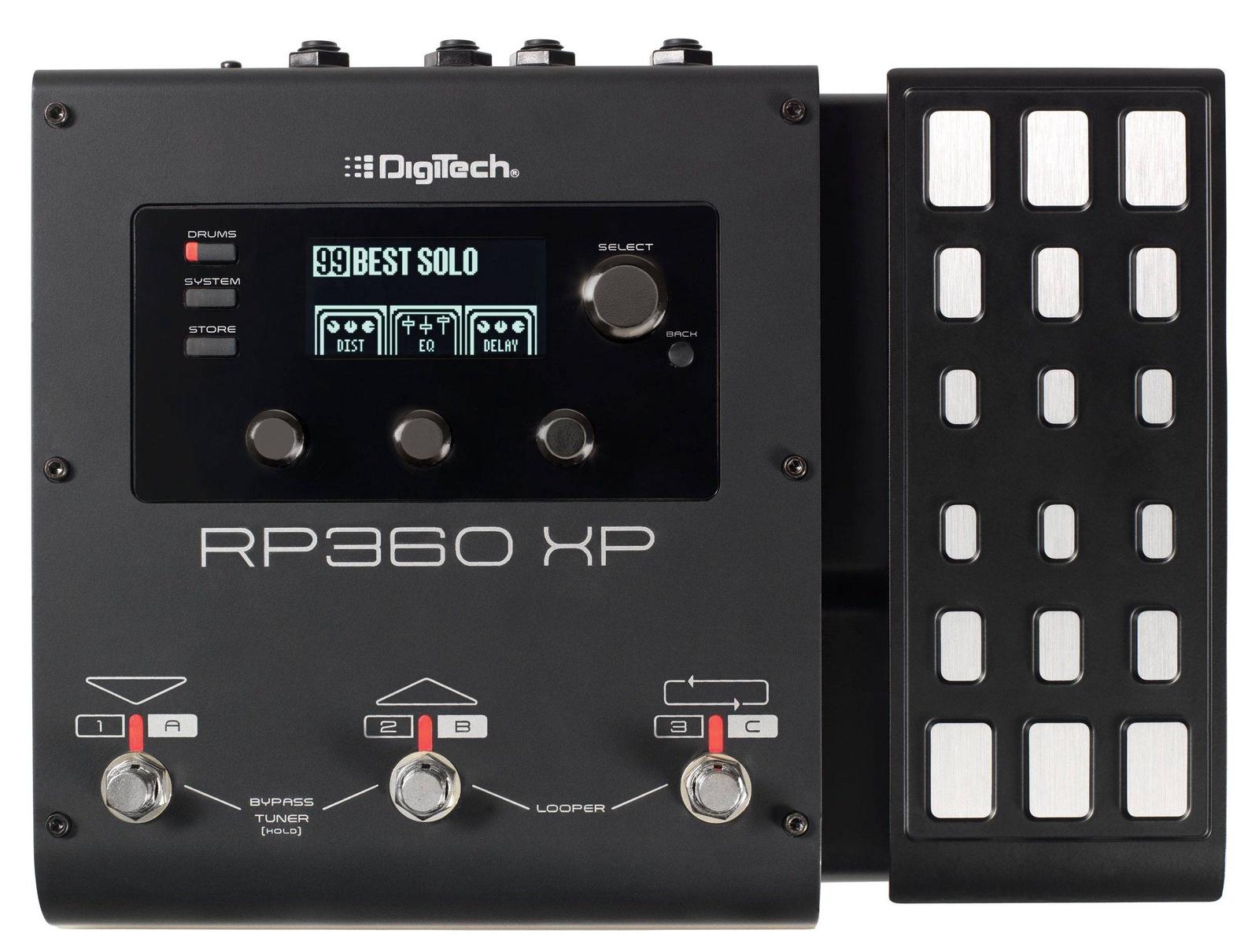Digitech RP360XP процессор с педалью экспрессии гитарный процессор digitech bp90