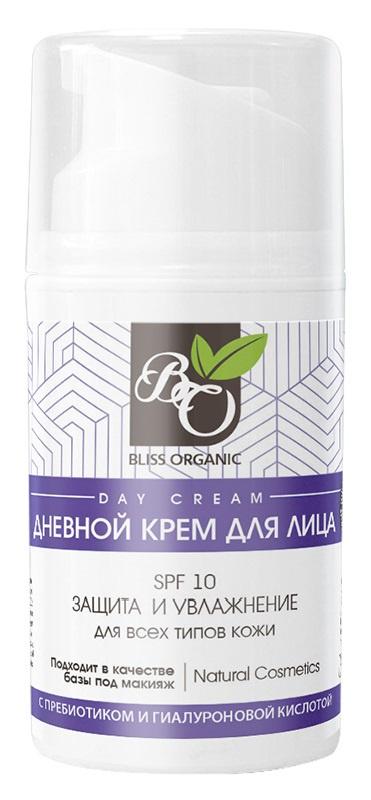 крем для лица spf 10 Bliss organic