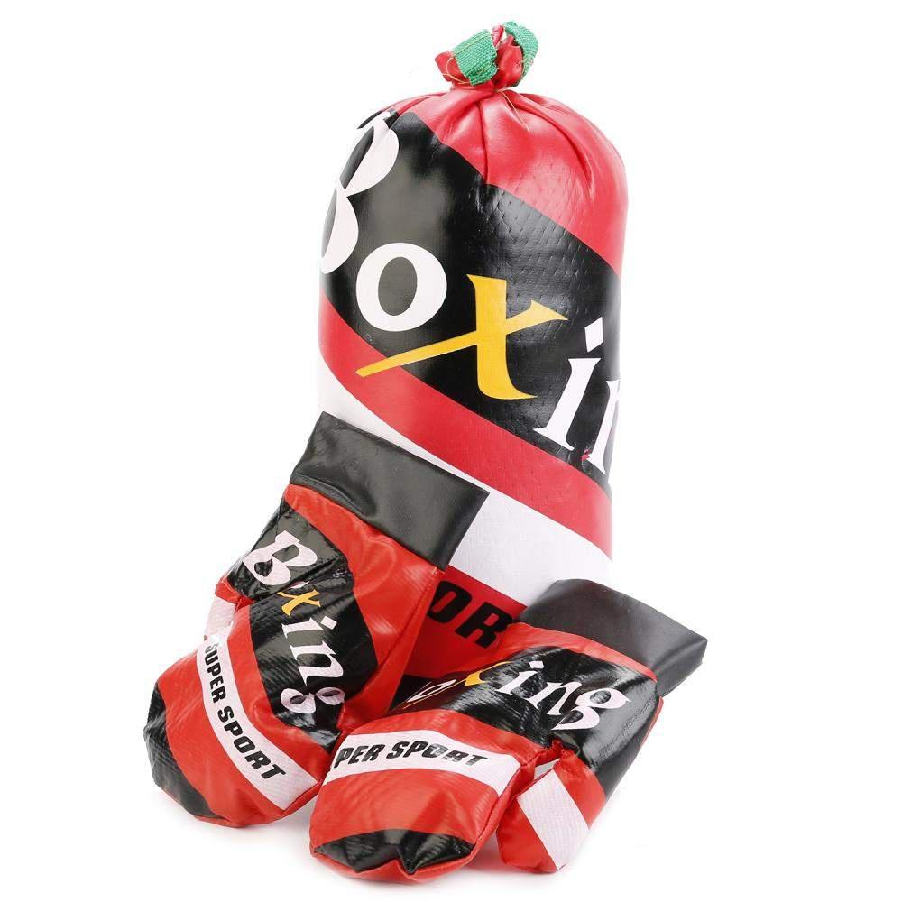 Набор для бокса в сетке (груша + перчатки) 224800