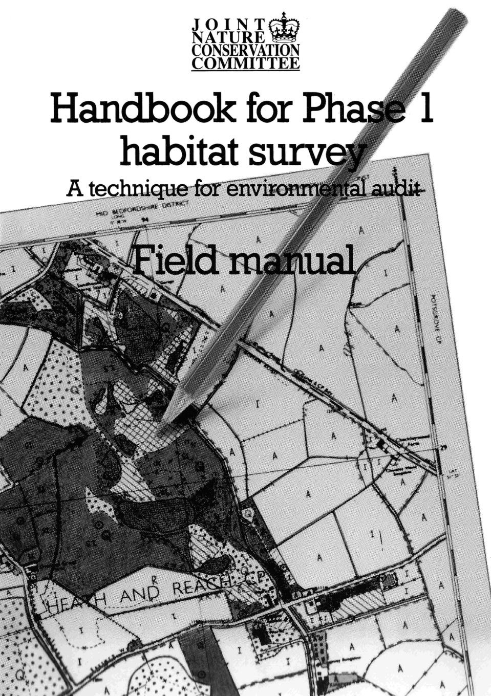 цены на Joint Nature Conservation Committee Handbook for Phase 1 Habitat Survey - Field Manual. A Technique for Environmental Audit  в интернет-магазинах