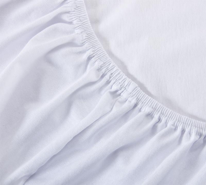 Простыня Ricotio трикотажная на резинке 180х200х20, цвет белый белый простыни арт постель простынь трикотажная на резинке незабудка 120 200 см