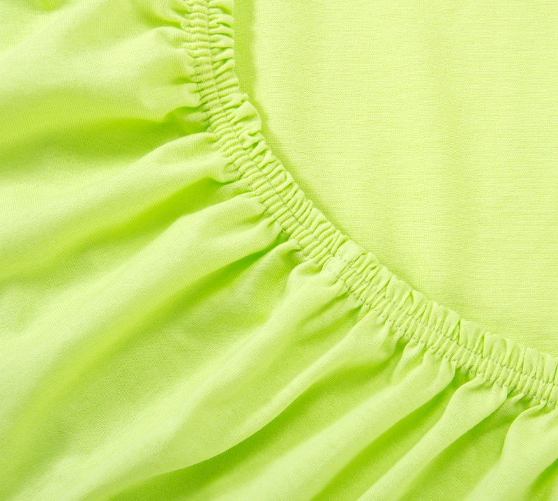 Простыня Ricotio трикотажная на резинке 200х200х20, цвет салатовый салатовый простыни арт постель простынь трикотажная на резинке мотылек 120 200 см
