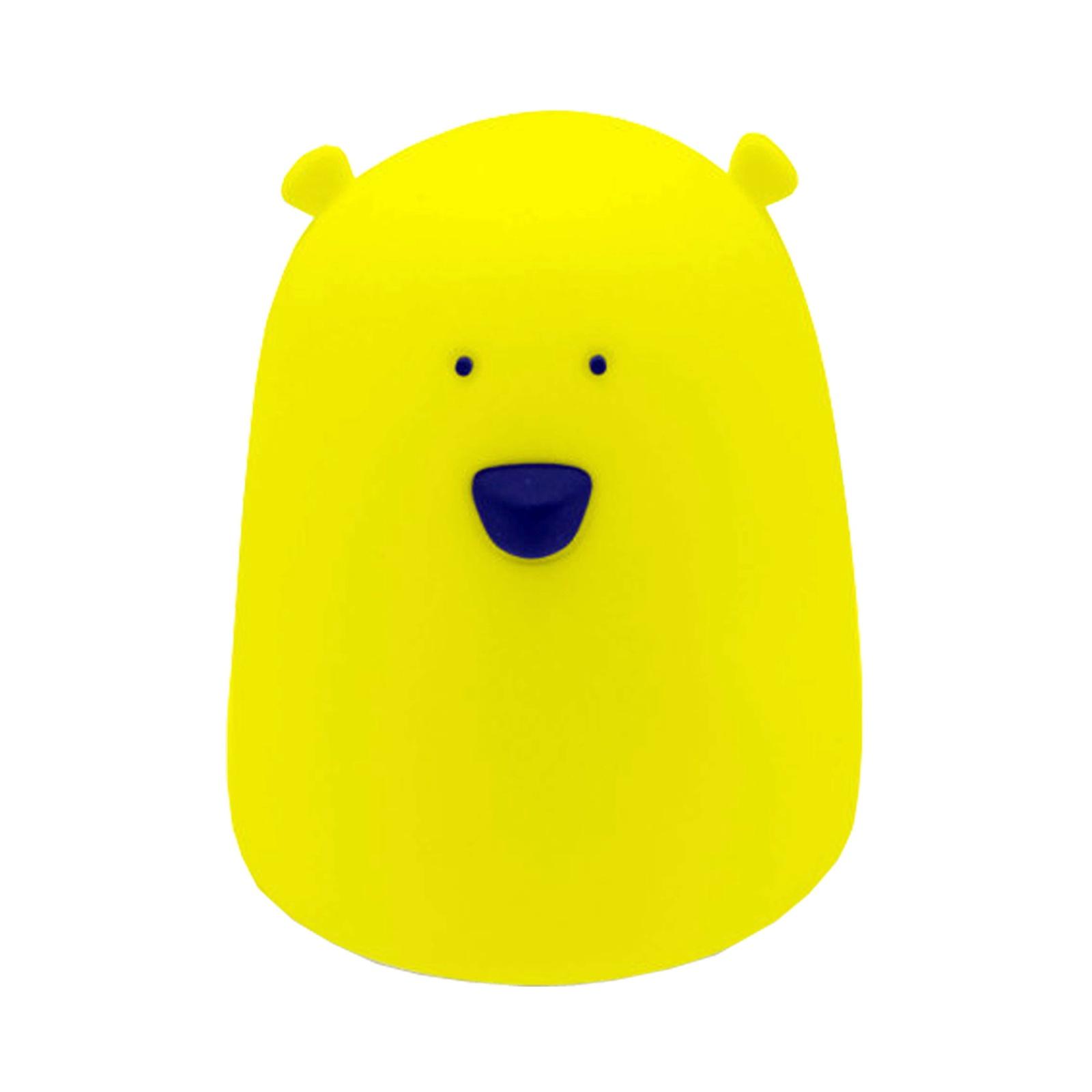 Ночник светодиодный силиконовый APEYRON electrics 12-64, желтый светодиодный неоновый светильник apeyron electrics фламинго