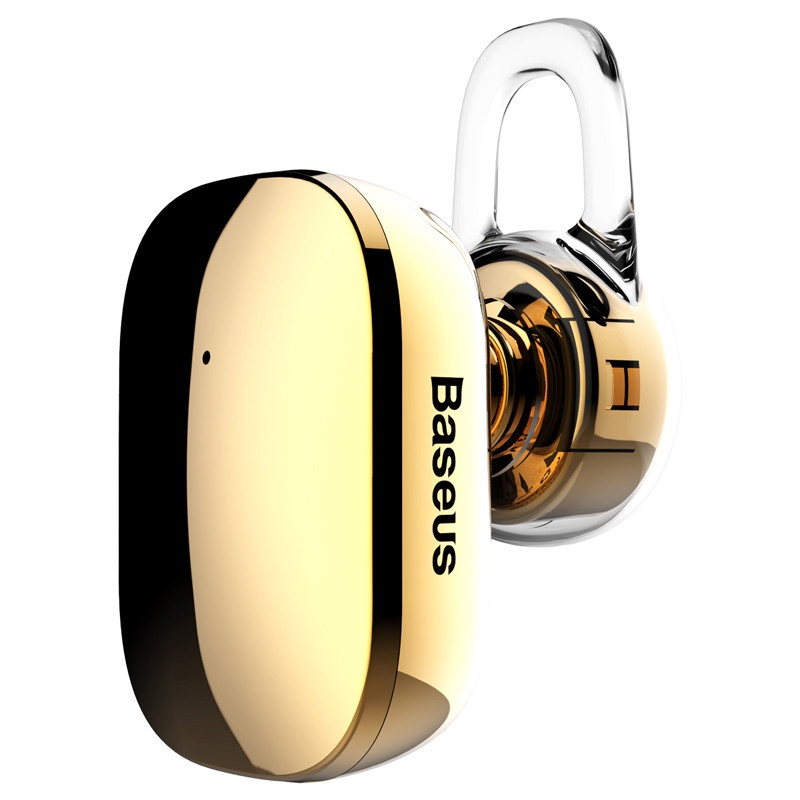 Bluetooth-гарнитура Baseus Encok Mini Wireless A02 Gold