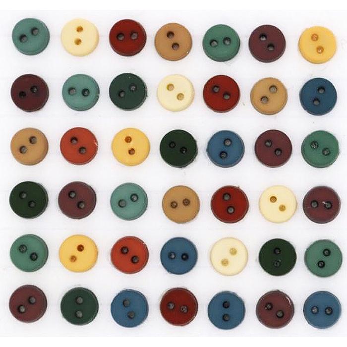 Пуговицы Jesse James - Tiny country buttons.