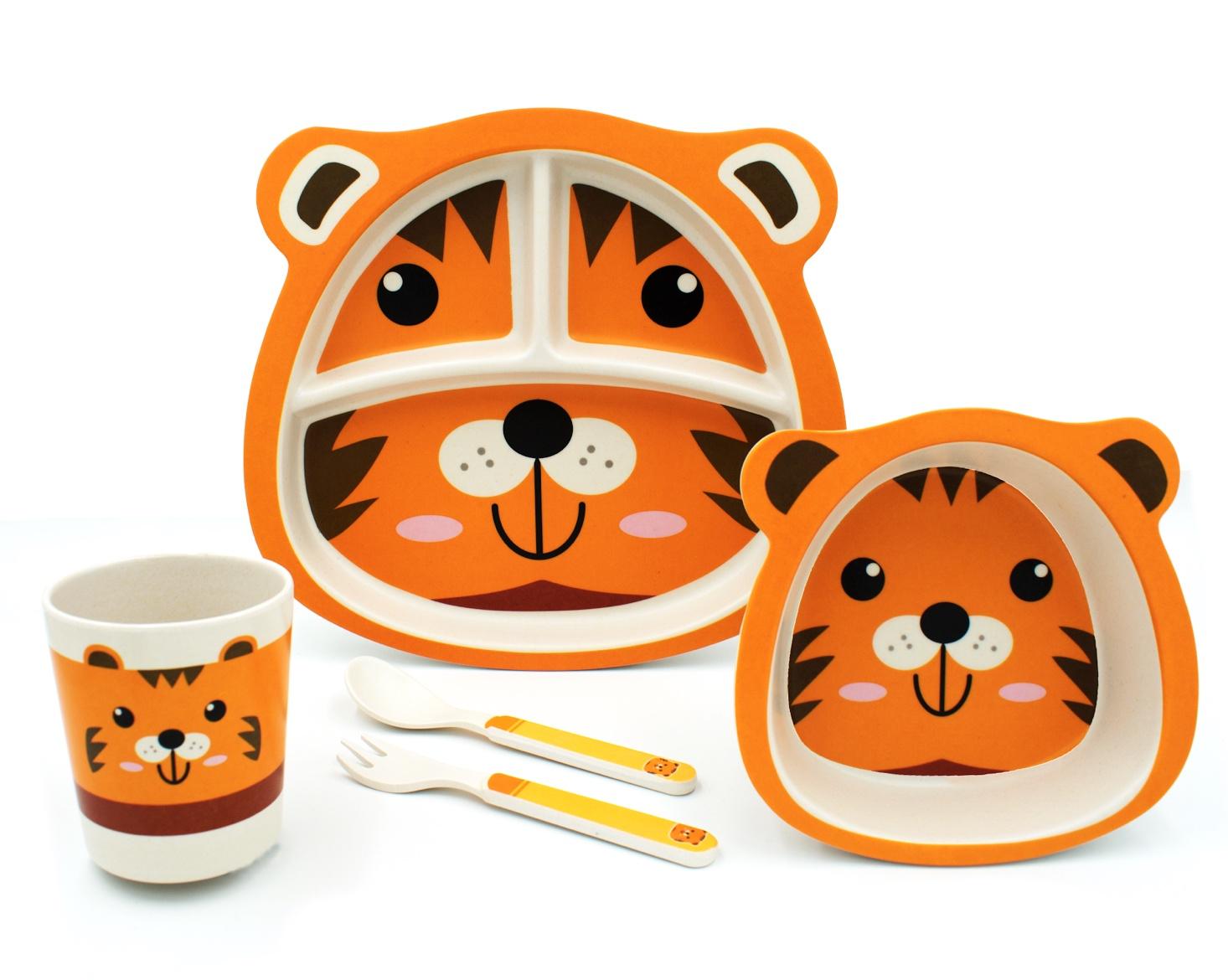 Комплект посуды Baozhiyu Тигр