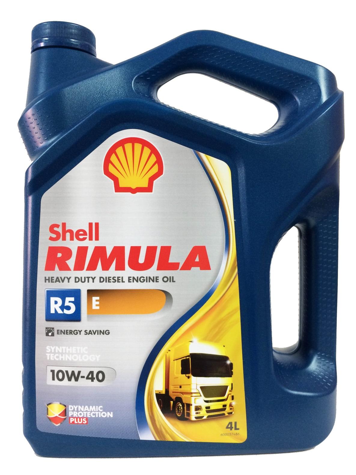 Масло SHELL RIMULA R5 E 10W-40 (4л)