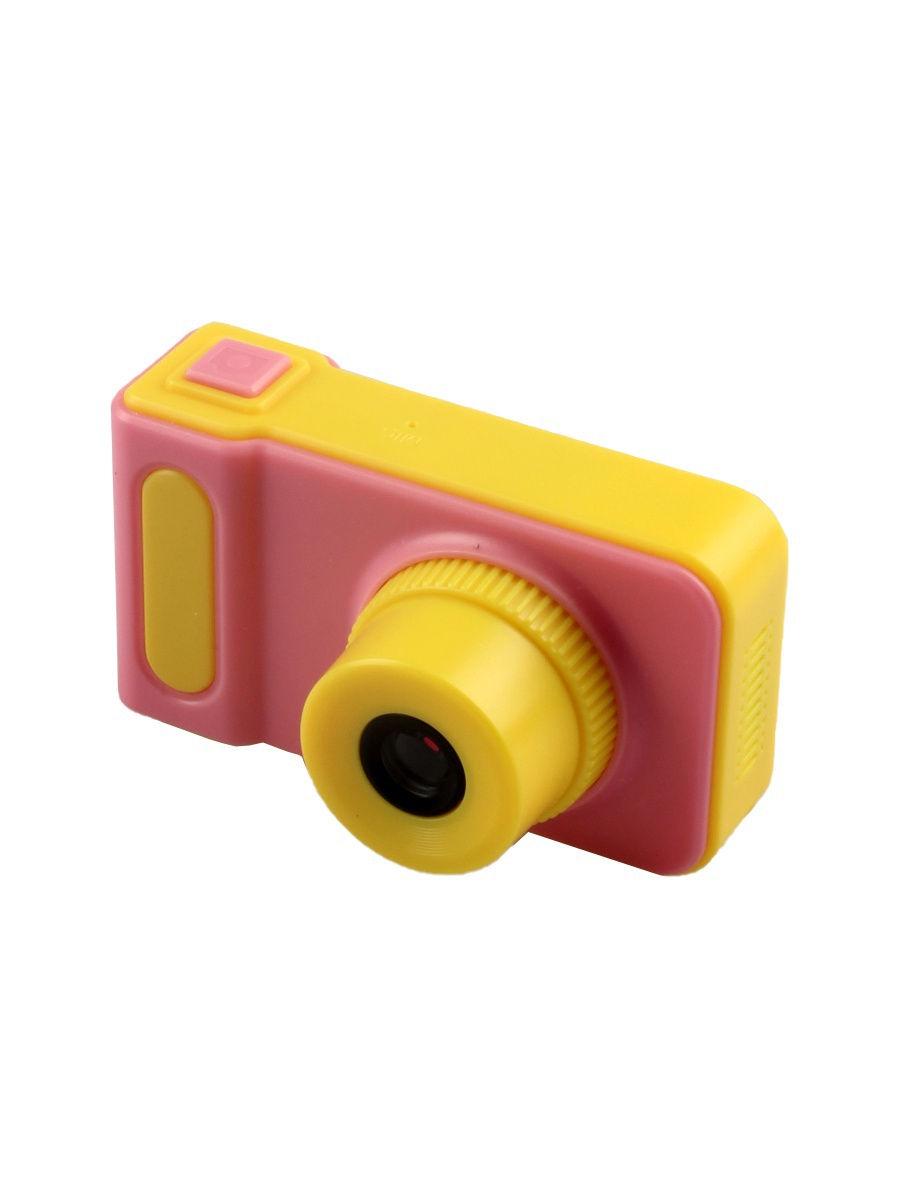 Фотоаппарат детский L.A.G. DC-G19, цвет розовый/желтый