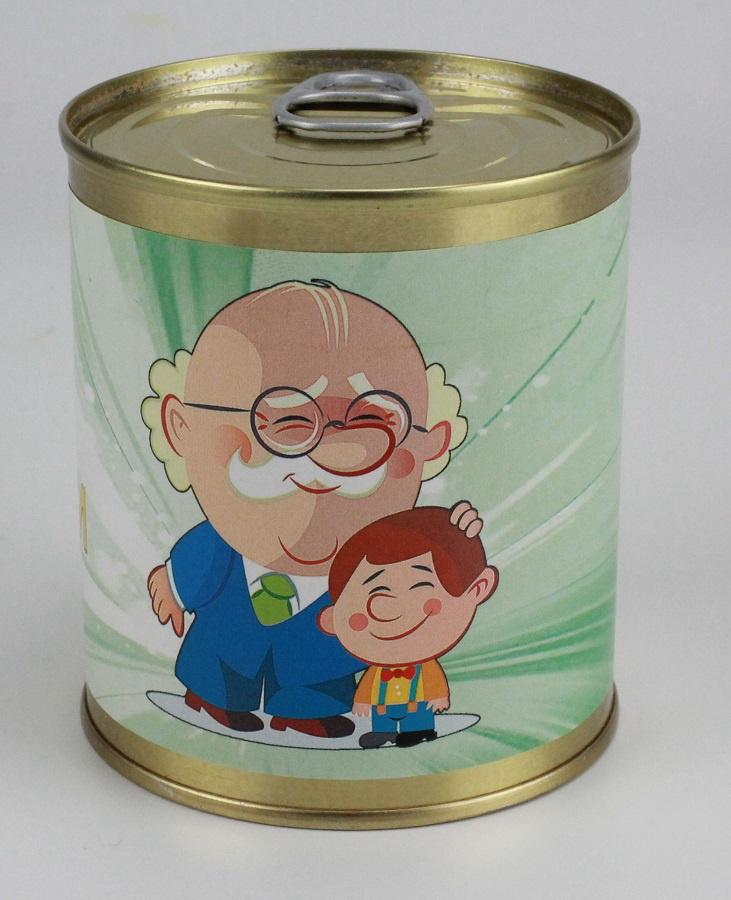 Носки в банке для дедушки