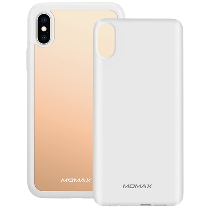Чехол с аккумулятором Momax: Q.Power Pack 4000mAh для iPhone X/Xs Белый