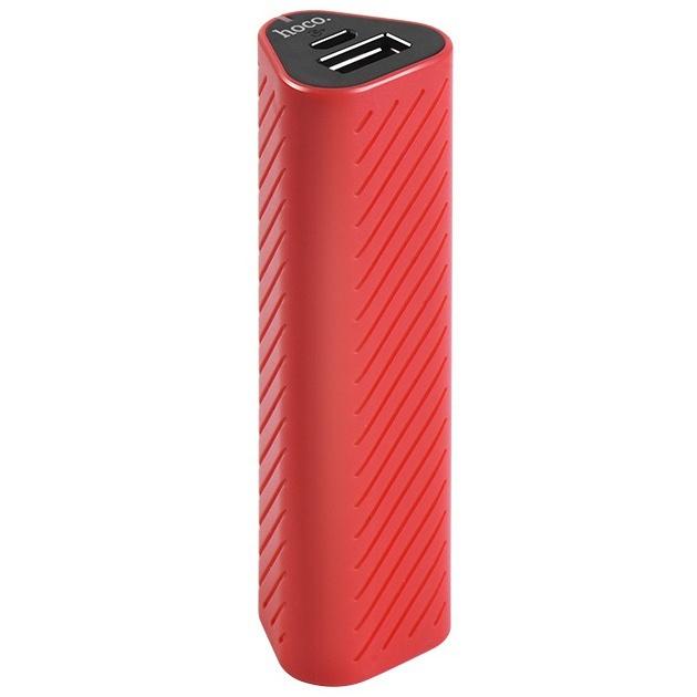 Внешний аккумулятор 2500мАч Hoco J23 - Красный