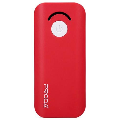Внешний аккумулятор 6000мАч Remax Proda Jane PPL-8 - Красный аккумулятор remax proda ppl 2 lovely series 5000mah black 52213