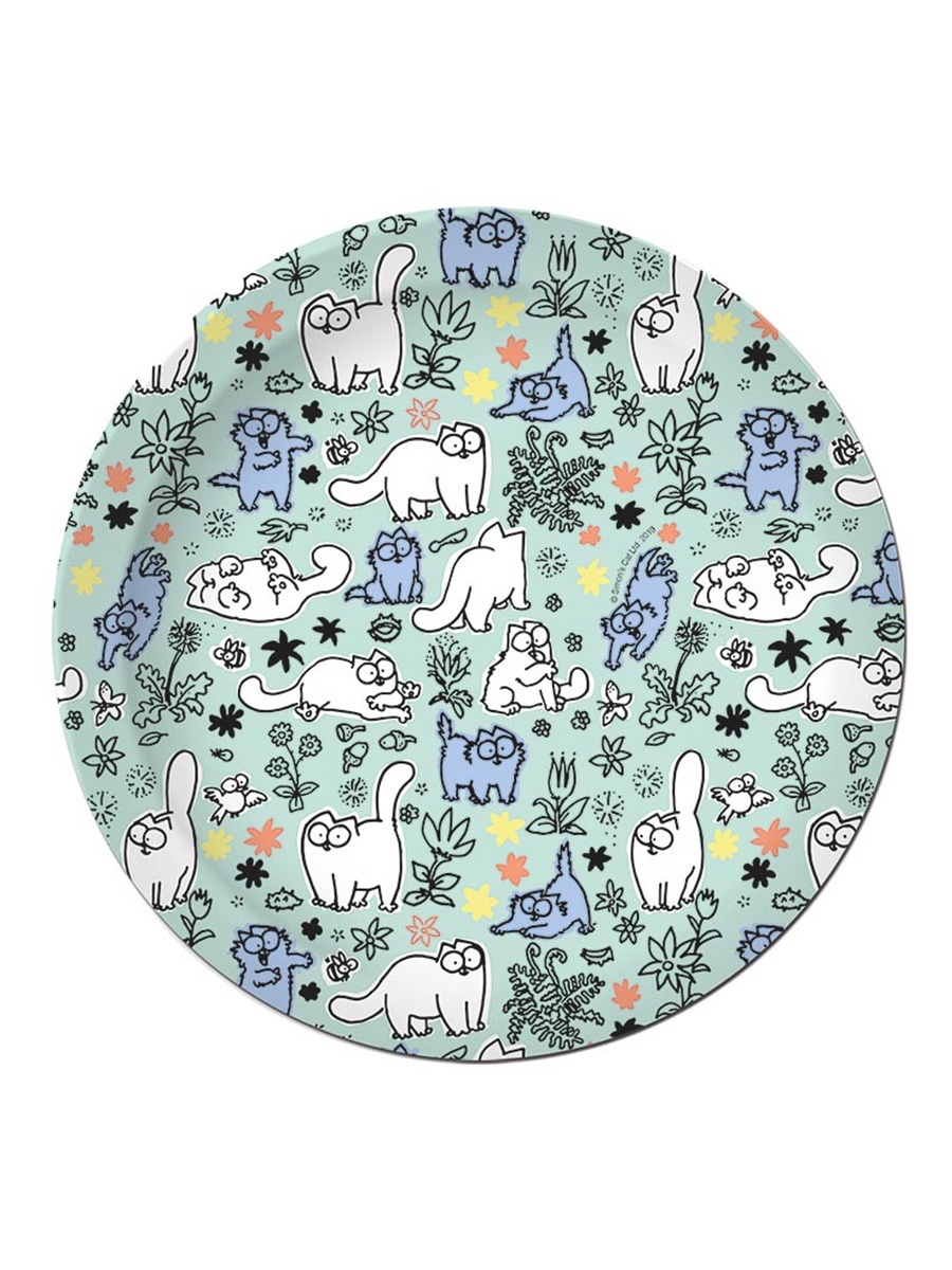 Одноразовая посуда Simon's Cat Тарелка бумажная 180 мм (10 шт)