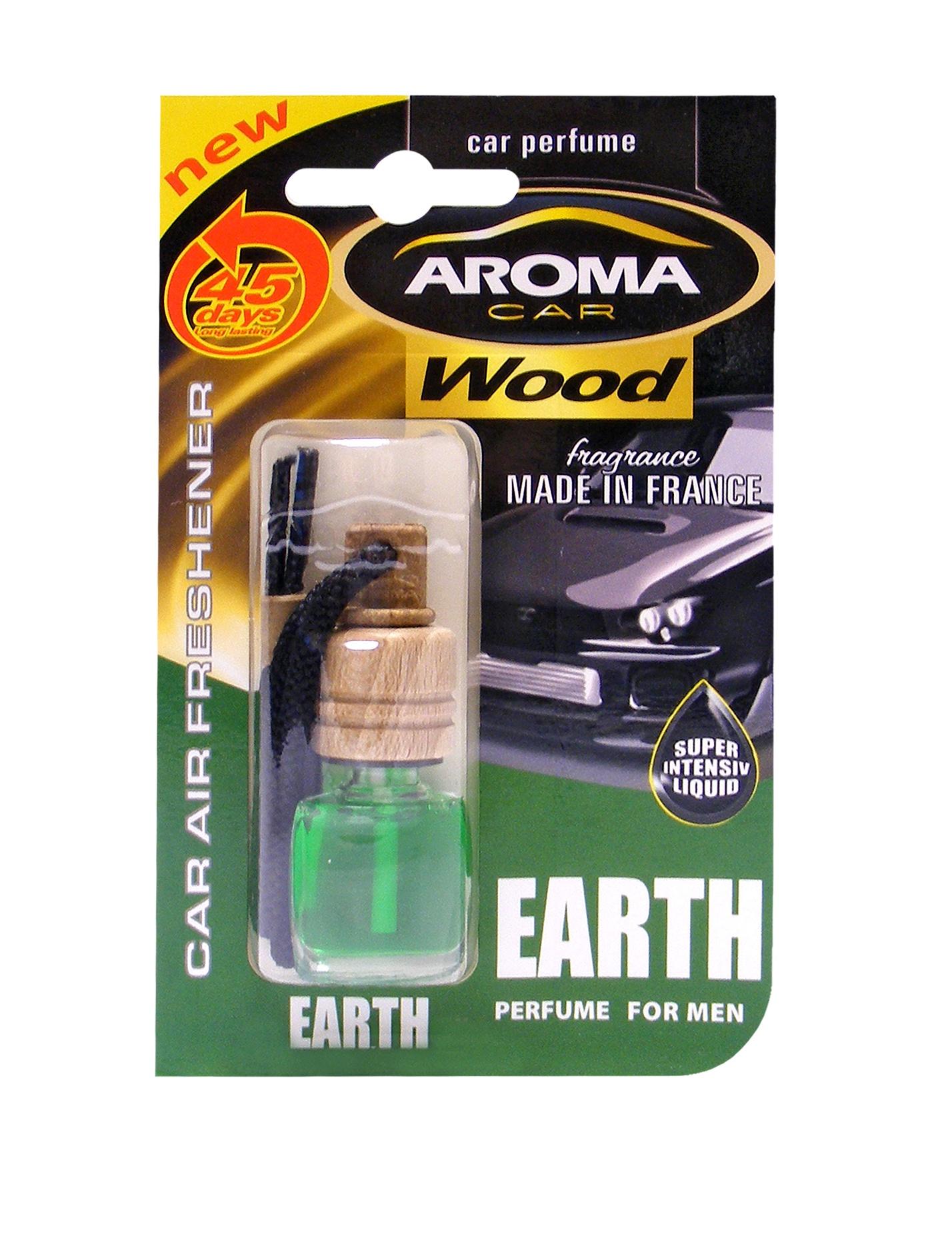 "Автомобильный ароматизатор Aroma Car ""Wood"", Earth"