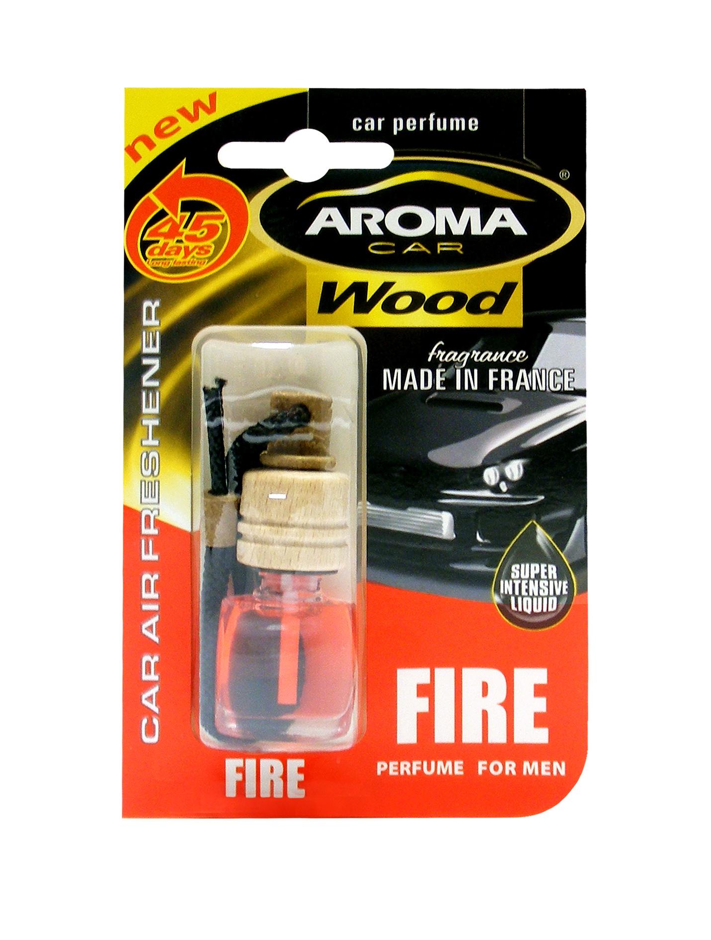 "Автомобильный ароматизатор Aroma Car ""Wood"", Fire"