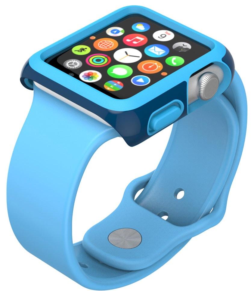 Чехол Speck CandyShell Fit для Apple Watch 42mm blue чехол speck smartshell для macbook pro 15