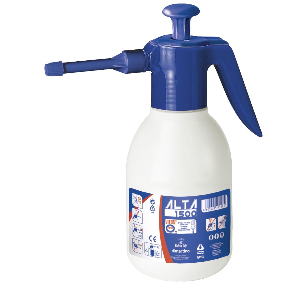 Распылитель кислот, масел и других агрессивных жидкостей Di Martino Alta 1500 Viton
