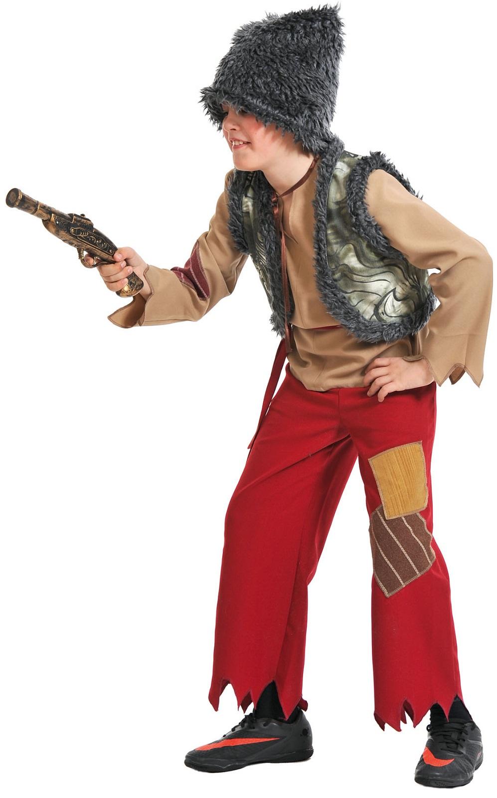 Карнавалофф Карнавальный костюм Разбойник с мушкетом