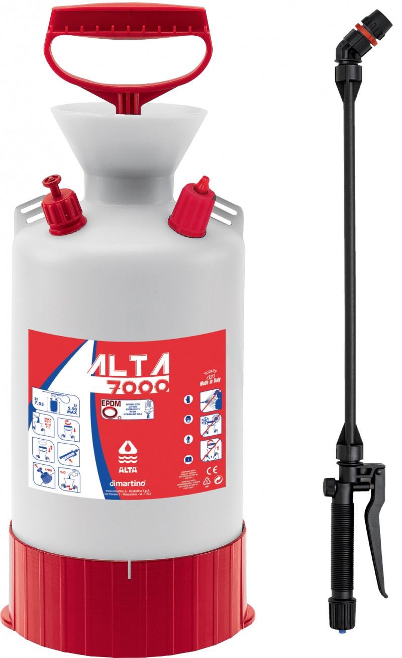 Купить Распылитель для растворителей, спиртов и щелочей Di Martino Alta 7000 EPDM 7л на XWAP.SU