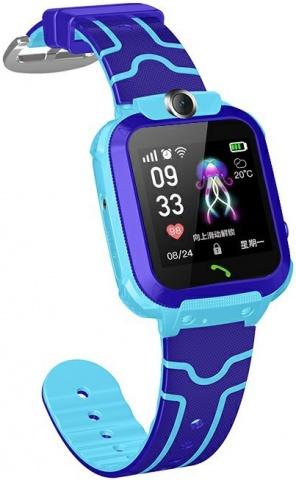 Детские GPS часы Nuobi Q12 (Синий) детские часы с gps wonlex gw700s красные