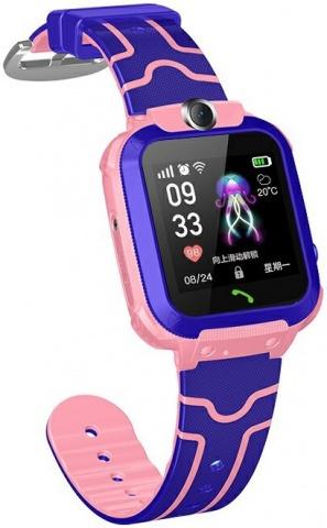 Детские GPS часы Nuobi Q12 (Розовый)