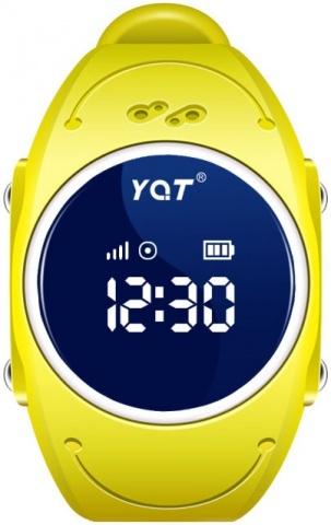Детские GPS часы Nuobi Q520S (Желтый)