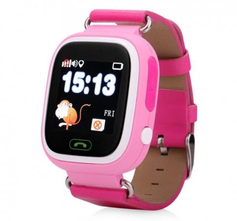 Детские GPS часы Nuobi Q90 (Розовый) детские часы с gps wonlex gw700s красные