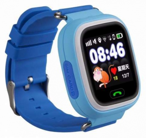 Детские GPS часы Nuobi Q90 (Голубой)