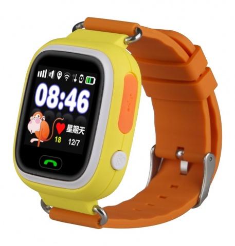 Детские GPS часы Nuobi Q90 (Желтый)