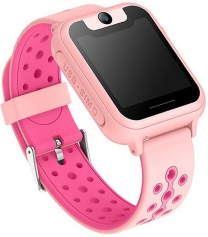 Детские GPS часы Nuobi S6 (Розовый)