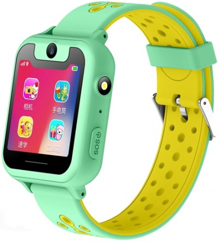 Детские GPS часы Nuobi S6 (Зеленый)
