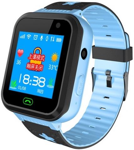 Детские GPS часы Nuobi S7 (Голубой)