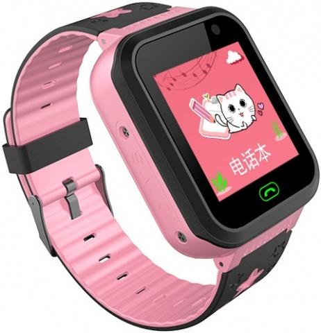Детские GPS часы Nuobi S7 (Розовый) детские часы с gps wonlex gw700s красные